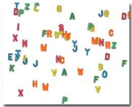 Just-Letters: Digitale Kühlschranktür
