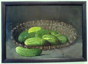 Gurken-Gemälde