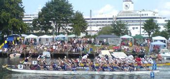 Drachenbootrennen Warnemünde 2006