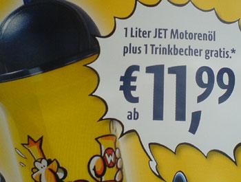 Jet-Plakat