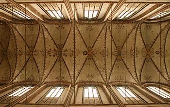 Gewölbe des Hauptschiffes der Marienkirche zu Lübeck