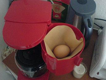Ei Kaffeemaschine