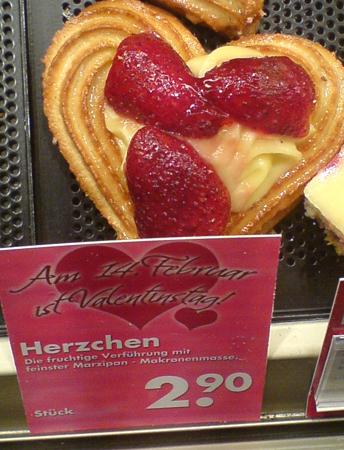 Bäcker-Angebot zum Valentinstag: Eine Handvoll Gebäck für 2,90