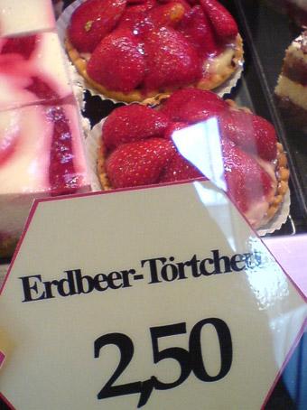 Erdbeertörtchen für 2,50