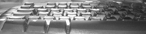Computertastatur Ausschnitt