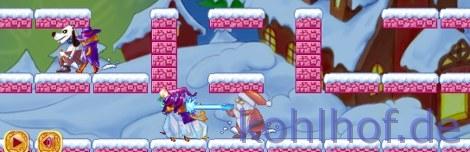 Jumpnrun Weihnachtsmann
