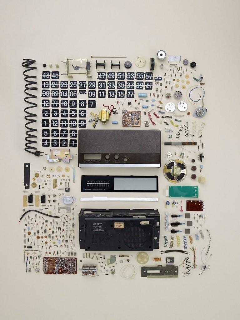 Bestandteile eines Radioweckers