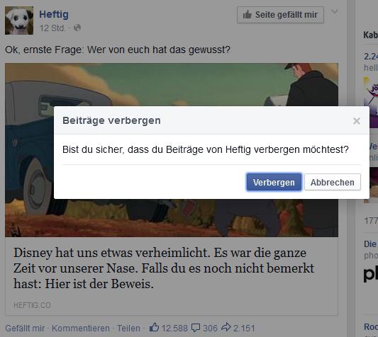"Screenshot: Bestätigungsfenster ""heftig.co verbergen?"""