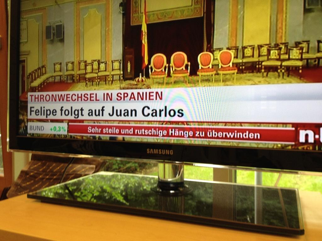 Für Felipe scheint der erste Arbeitstag im neuen Job mit ungewöhnlichen Anstrengungen verbunden zu sein.