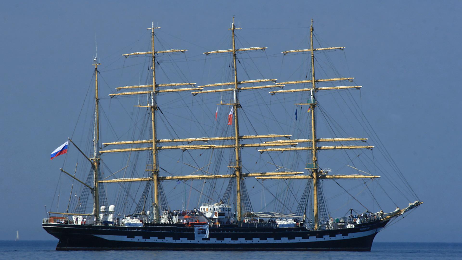 "Segelschiff ""Sedov"""