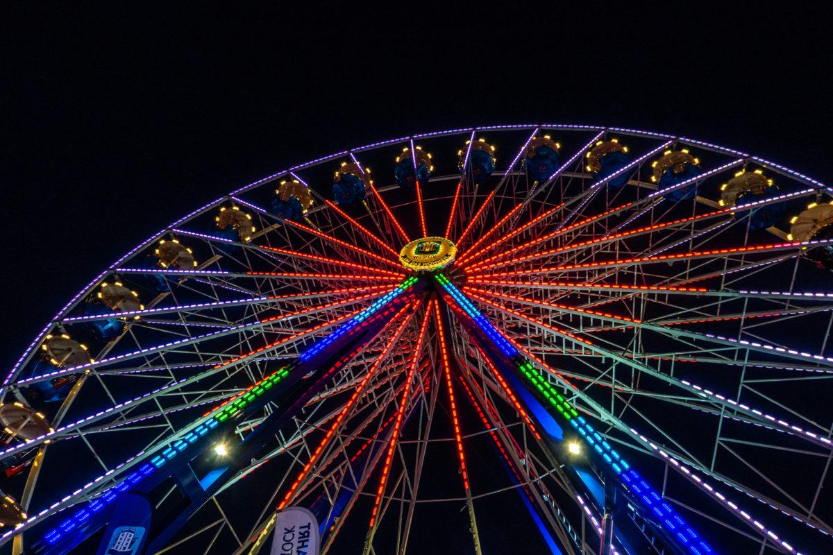 Rostocks Regenbogen-Räder