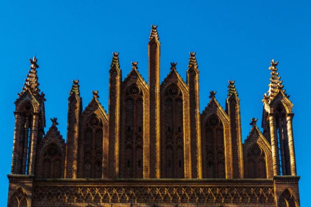 Giebel der Klosterkirche in Malchow