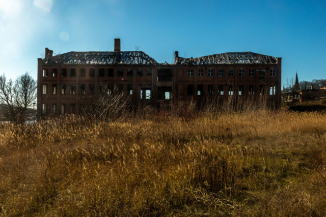 Industrie-Ruine in Malchow